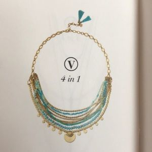 Stella & Dot Isa Disc Necklace
